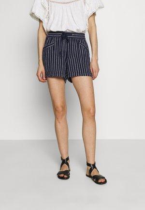 PULL ON - Shorts - navy stripe
