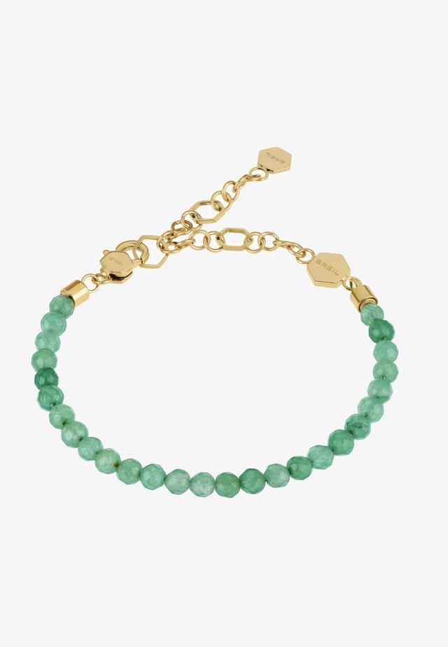 Bracciale - gold-verde