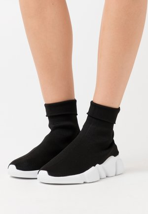 TURBO  - High-top trainers - black