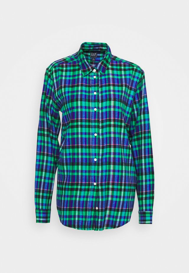 EVERYDAY  - Camicia - blue/green