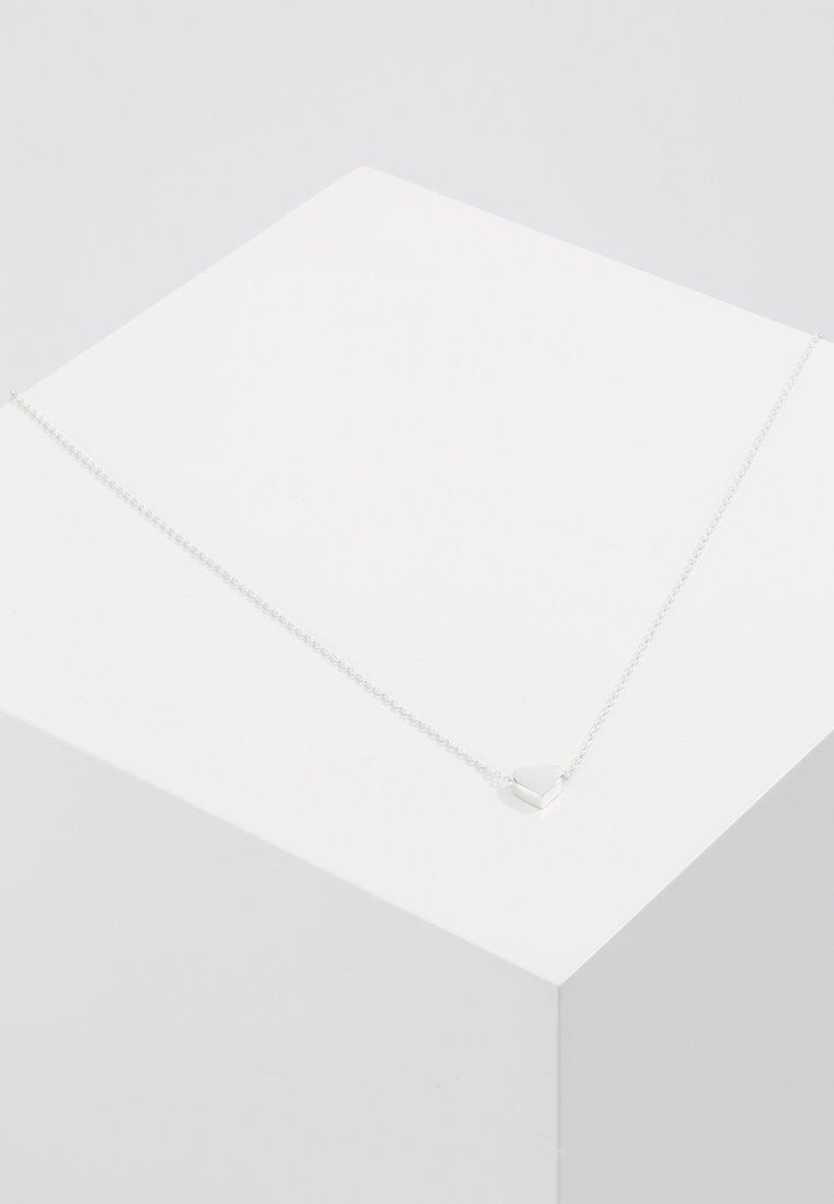 Orelia - THRU HEART - Necklace - silver-coloured