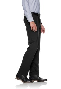 BRAX - JAN  HERRENHOSE FLATFRONT - Pantaloni eleganti - black - 2