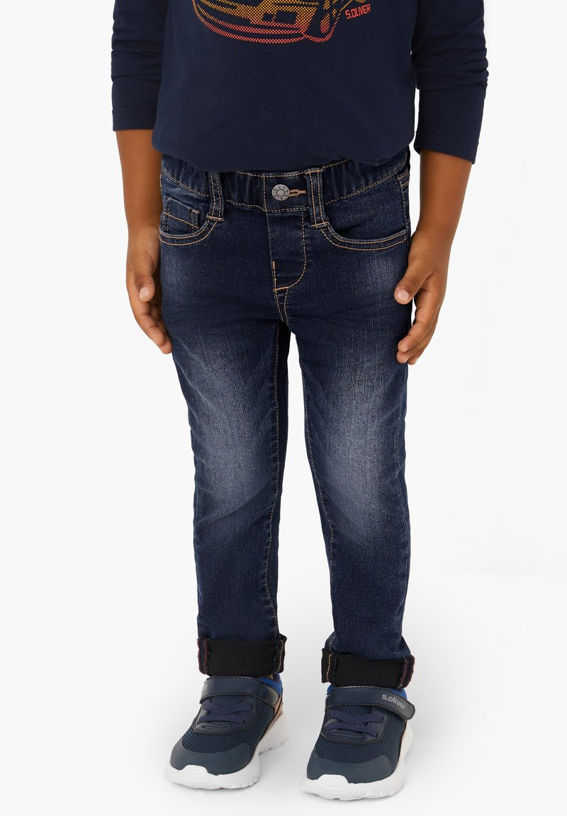 s.Oliver - Slim fit jeans - dark blue