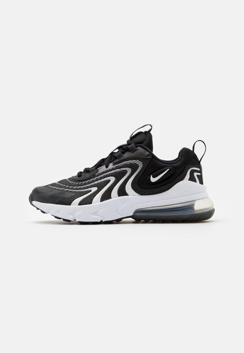 Nike Sportswear - AIR MAX 270 REACT UNISEX - Tenisky - black/white/dark smoke grey/wolf grey