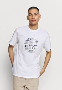 Carhartt WIP - Print T-shirt - white - 0
