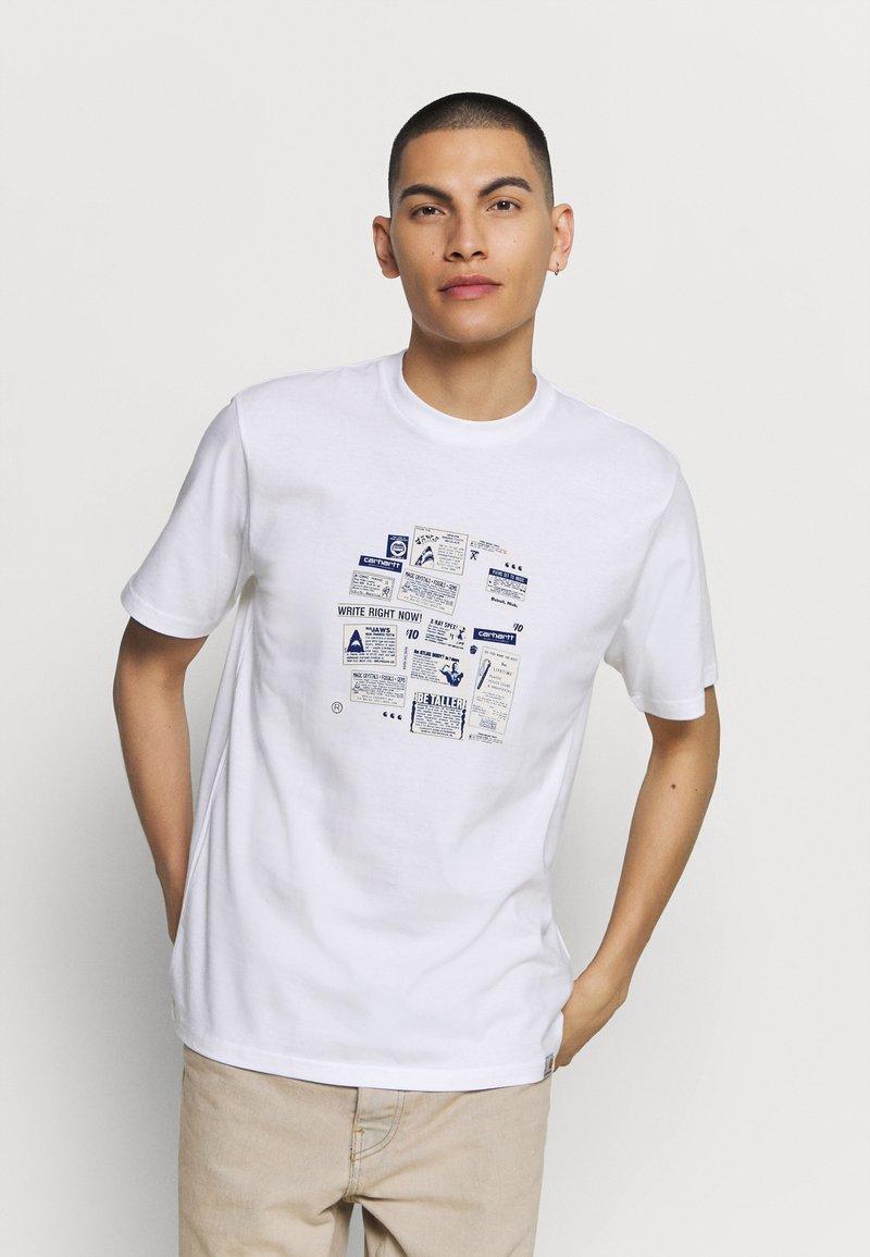 Carhartt WIP - Print T-shirt - white
