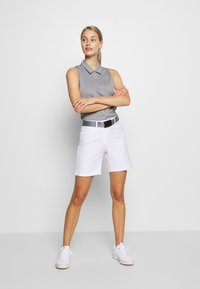adidas Golf - PERFORMANCE SPORTS GOLF SLEEVELESS - Polo - glory grey - 1