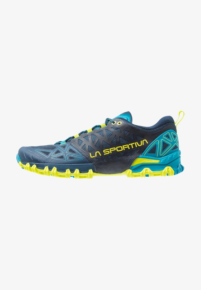 BUSHIDO II - Trail running shoes - opal/apple green