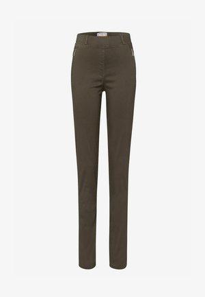 STYLE LAVINA ZIP - Pantalon classique - olive