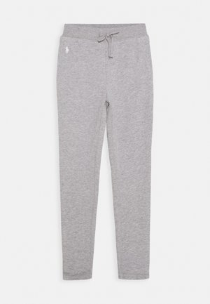 PANT - Tracksuit bottoms - light grey heather
