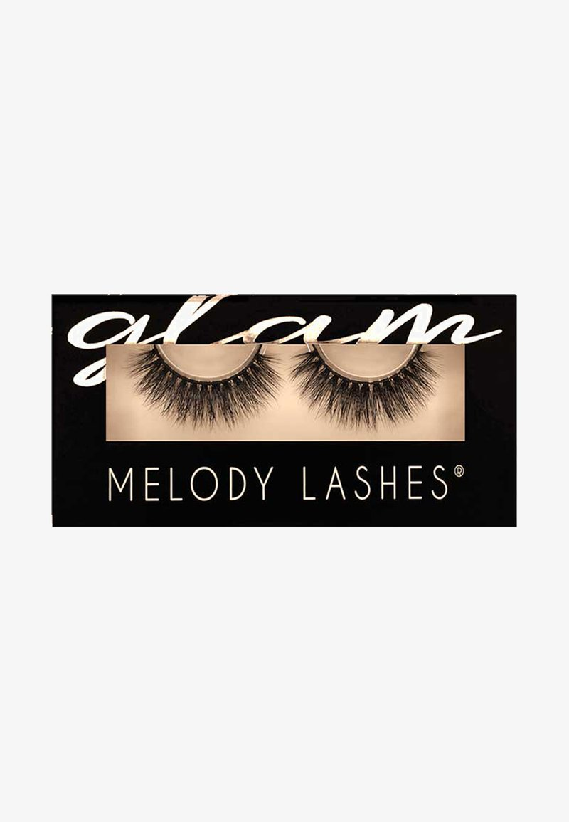 Melody Lashes - GLAM TOO SEXY - False eyelashes - black