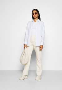 Weekday - EDYN OXFORD - Button-down blouse - blue/white - 1