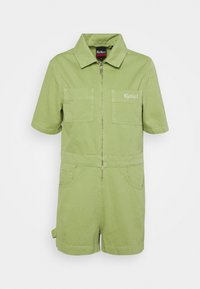 Kickers Classics - DRILL UTILITY PLAYSUIT - Jumpsuit - lime - 0