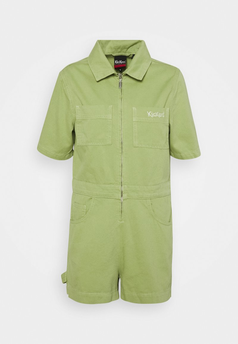 Kickers Classics - DRILL UTILITY PLAYSUIT - Jumpsuit - lime