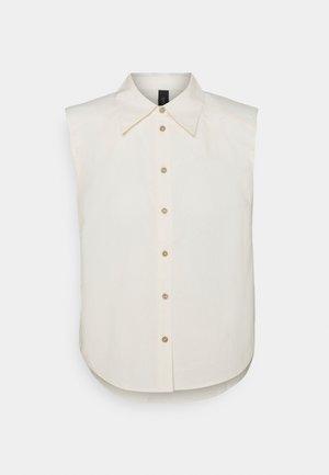 YASAGANA - Button-down blouse - eggnog