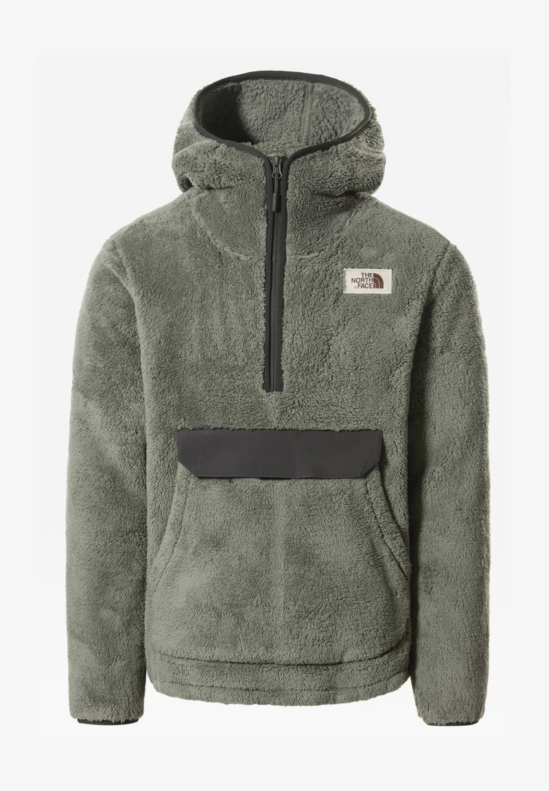 The North Face - M CAMPSHIRE PULLOVER HOODIE - Hoodie - agave green/asphalt grey