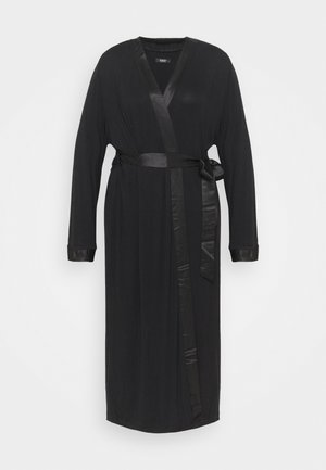 PRETTY SECRETS TRIM GOWN - Dressing gown - black