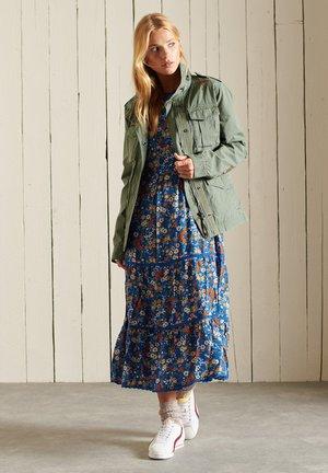 Maxi dress - blue ditsy