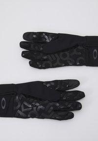 Oakley - FACTORY PARK GLOVE  - Gloves - blackout - 1