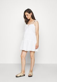 Missguided Maternity - CAMI MINI DRESS - Day dress - white - 0