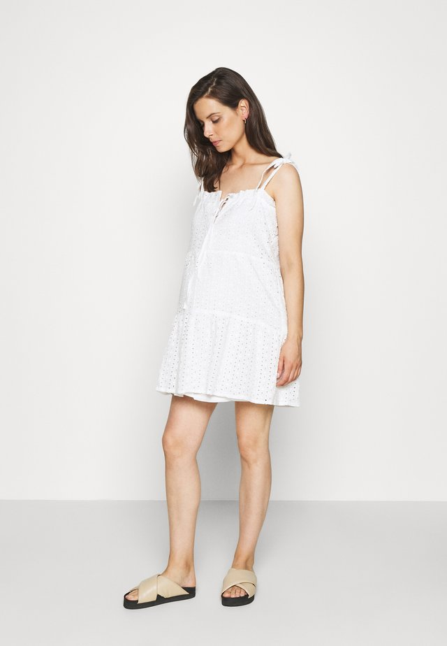 CAMI MINI DRESS - Hverdagskjoler - white