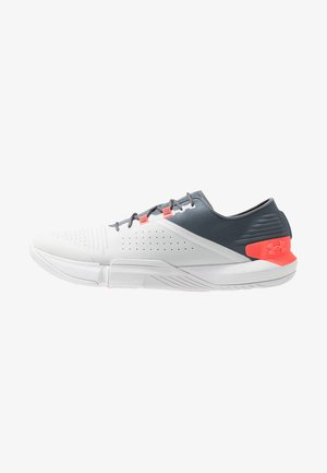 TRIBASE REIGN - Sports shoes - pitch gray/halo gray/beta red