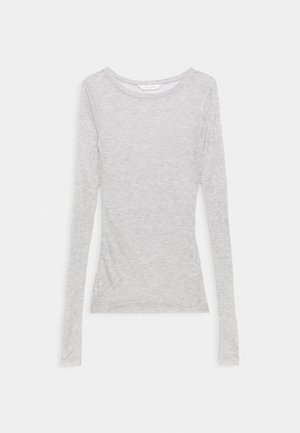 FERMI - Long sleeved top - light grey melange