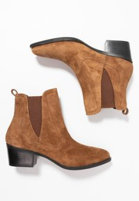 Pons Quintana - ROSANA - Classic ankle boots - toffe cognac - 3