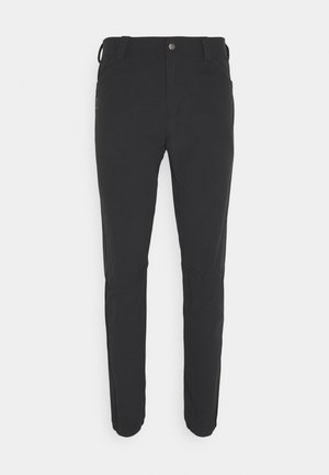 WAYFARER TAPERED PANTS  - Tygbyxor - black