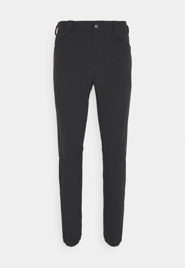 WAYFARER TAPERED PANTS  - Broek - black