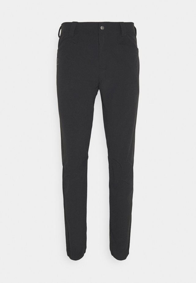 WAYFARER TAPERED PANTS  - Kalhoty - black