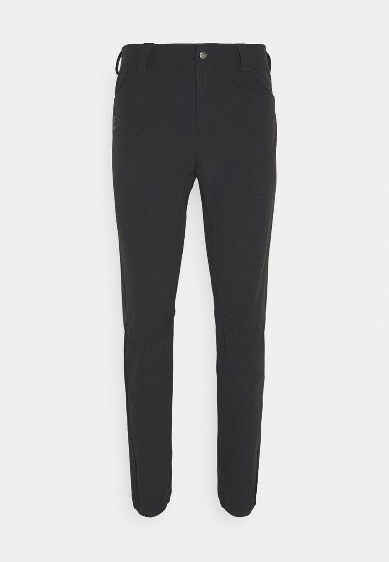 Salomon - WAYFARER TAPERED PANTS  - Trousers - black