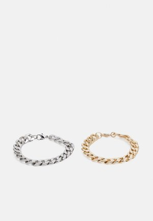 2 PACK - Bracelet - gold-coloured/silver-coloured