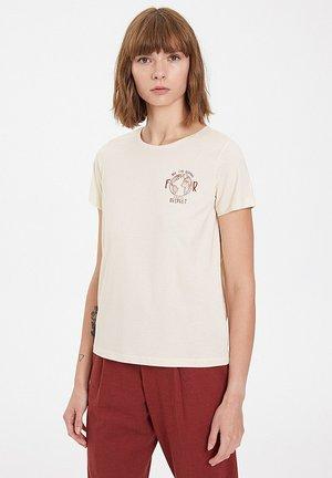 RESPECT - T-shirt print - raw cotton