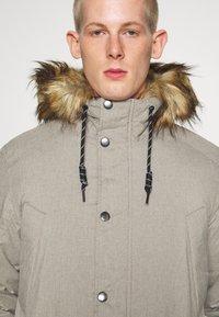 Jack & Jones - Zimní kabát - light grey melange - 4