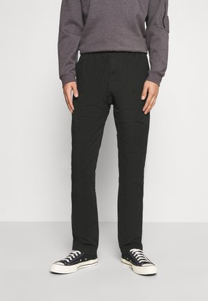 NN-PANTS SLIM - Chinos - black