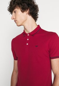 Emporio Armani - Polo shirt - dark red - 5