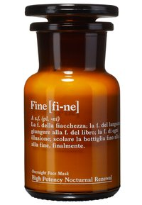fine - HIGH POTENCY NOCTURNAL RENEWAL OVERNIGHT FACE & EYE MASK - Skincare set - - - 2