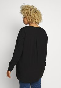 JUNAROSE - by VERO MODA - JRVERONICA SOLID SHIRT  - Blouse - black - 2