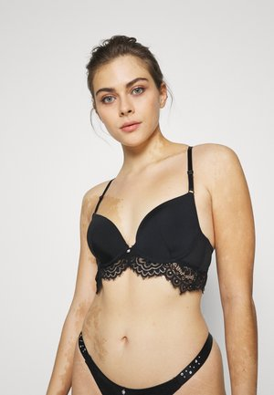 GRACE - Underwired bra - caviar