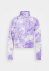 TANYA - Zip-up sweatshirt - purple sea