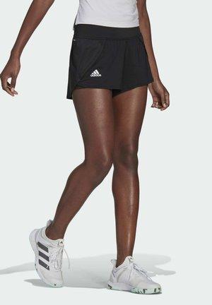 TENNIS MATCH SHORTS - Pantaloncini sportivi - black