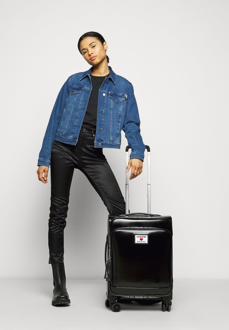 Love Moschino - Wheeled suitcase - black