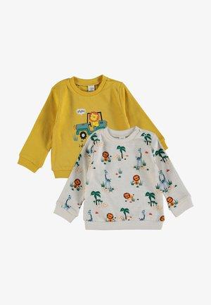 SET - Sweatshirt - yellow