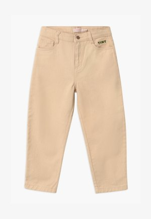 SOLID BAGGY UNISEX - Relaxed fit jeans - cream