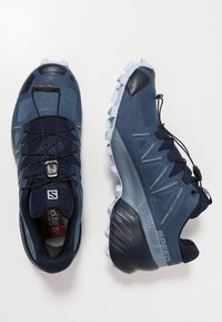 Salomon - SPEEDCROSS 5 - Trail running shoes - sargasso sea/navy blazer/heather