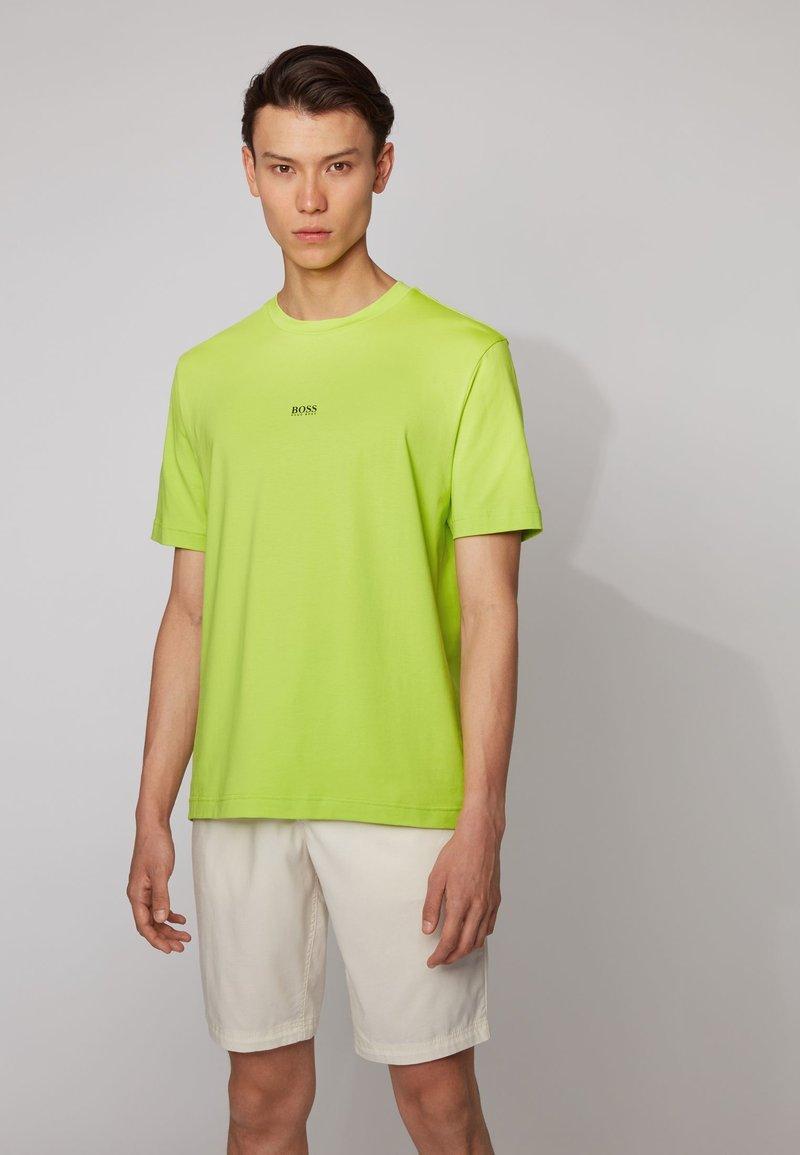 BOSS - TCHUP - Basic T-shirt - yellow