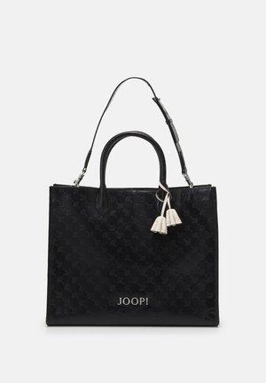STAMPA AURELIA SHOPPER SET - Shopping Bag - black