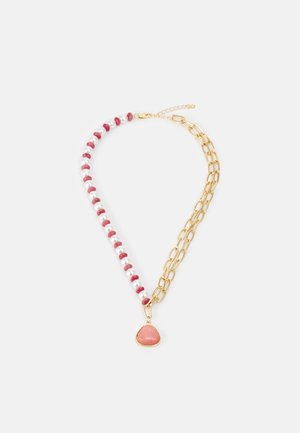 PCLYNG HALF COMBI NECKLACE - Necklace - gold-coloured