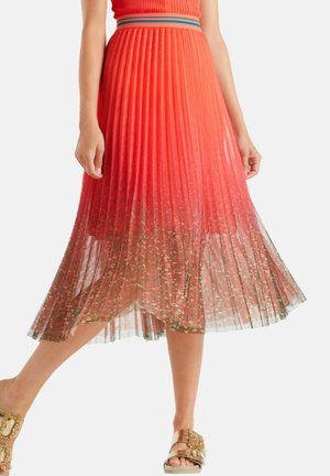 A-line skirt - koralle